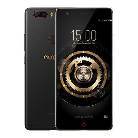 Смартфон ZTE Nubia Z17 Lite 6/64+NFC черный б\у,полный комплект+бампер