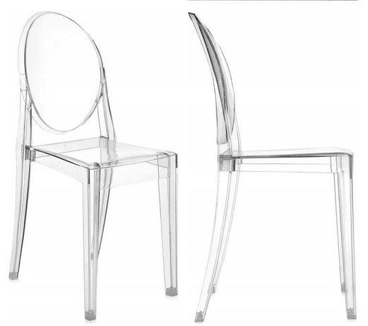 Krzesło KARTELL VICTORIA GHOST transparentne 2 SZT