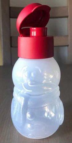 Garrafa Boneco de Neve Tupperware