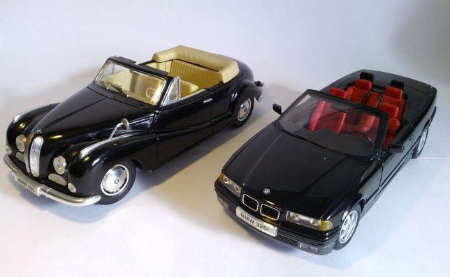 BMW, Porsche escala 1/18 SEM CAIXA