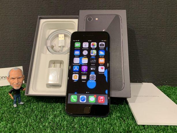 ТОП цена! iPhone 8 64гб Space Gray NEVERLOCK отличный, гарантия.