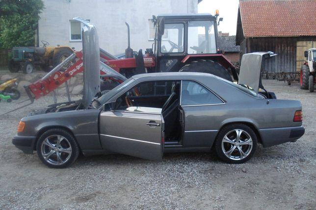 Auto do Slubu,Youngtimer Klasyk, Mercedes C124 COUPE