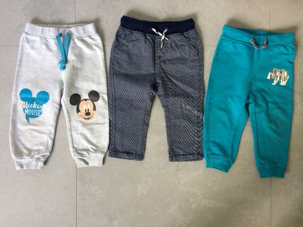 Spodnie dla chłopca rozm. 80-86