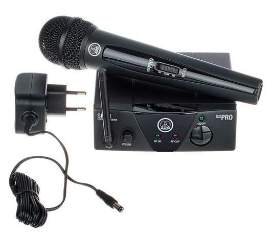 Nowy Mikrofon bezprzewodowy AKG WMS 40 Różne zakresy