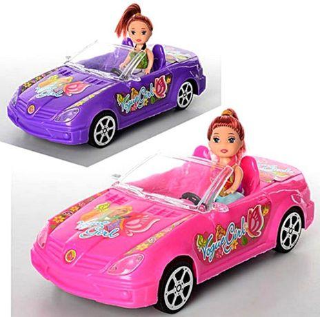 Куколки на больших крутых машинах 24 см!куклы,пупсики,машинки,пупс