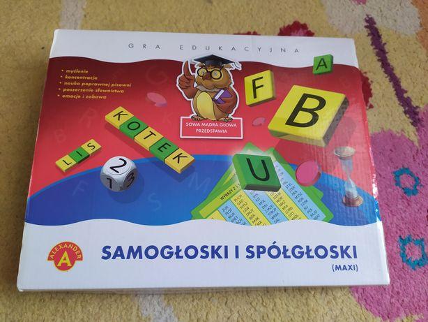 Gra edukacyjna samogłoski i spółgłoski Alexander, 7+