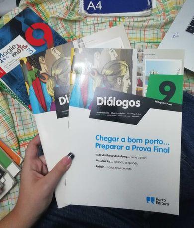 Diálogos 9 Português 9º ano Porto Editora