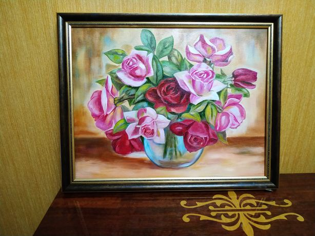 """Картина """"Букет роз"""""""
