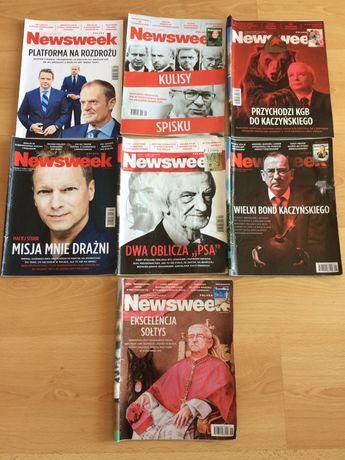 Tygodnik Newsweek Polska 2021, 7 sztuk