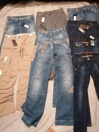 Spodnie jeansowe i inne