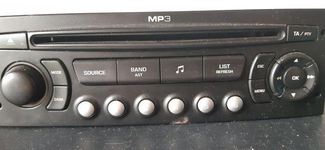 Radio samochodowe berlingo