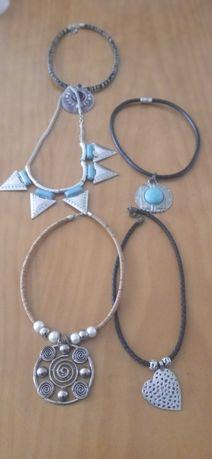 5 colares de senhora