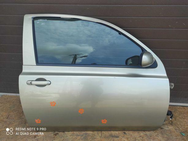 Drzwi prawe przednie prawy przód Nissan Micra K12 3D EY2J