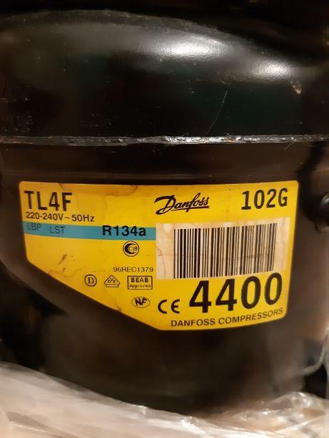 Sprężarka chłodnicza do lodówki firmy Danfoss TL4F na czynnik R134 a