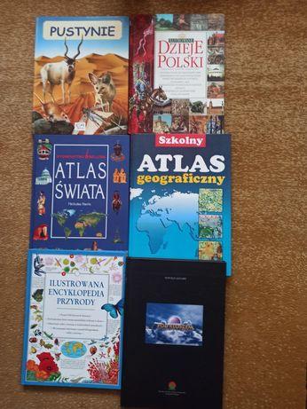 Atlasy i książki przyrodnicze