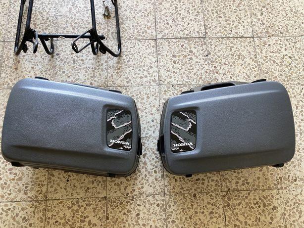 Malas laterais e suportes Honda Cb500