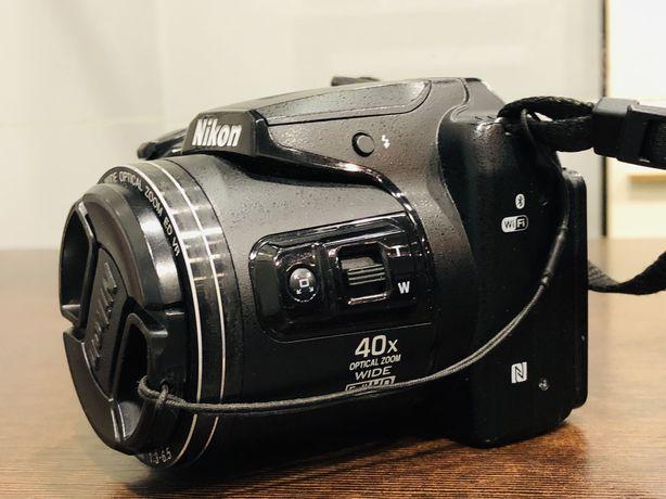 Aparat Nikon CoolPix B500 caly komplet Wifi bluetooth