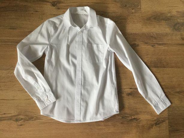 Biała koszula H&M rozm. 140