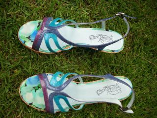kw tylko 6,80 Sandały 25,5 cm wysokie piękne niepowtarzalne kolory