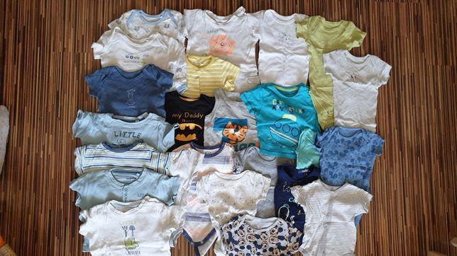 Zestaw paka bluzek dla dziecka 62 68