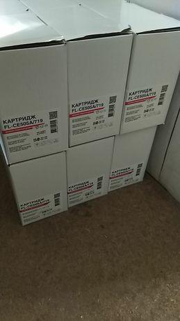 Картриджи под заправку лазерного принтер Canon 719 725 703 HP 85a 05a