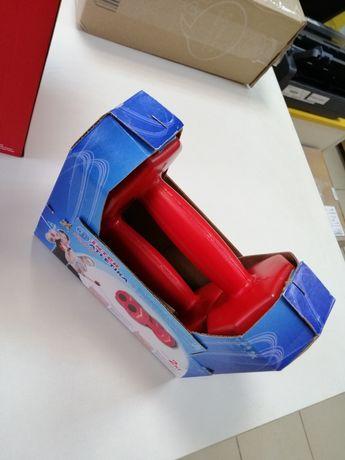 Гантели 2 кг красные (комплект)
