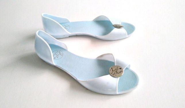 Meliski baleriny sandały baby blue 38