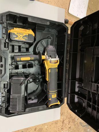 Акумуляторна  безщеткова болгарка DeWalt DCG-405XR, Bosch Milwaukee