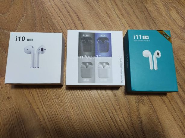 Беспроводные Bluetooth сенсорные наушники i10TWS,i11TWS,inPods12
