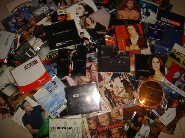 Lote de 10 cd's singles originais