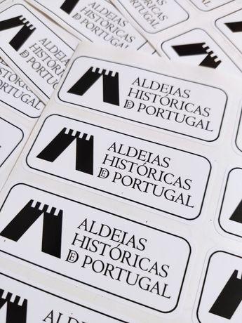 Autocolante em vinil Aldeias Históricas de Portugal 90mm