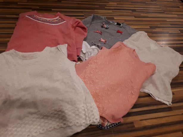 Bluzki bluzy dziecięce F&F rozm. 116