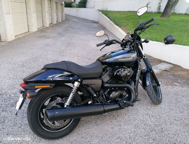Harley-Davidson Street  750  Vivid Black Delux