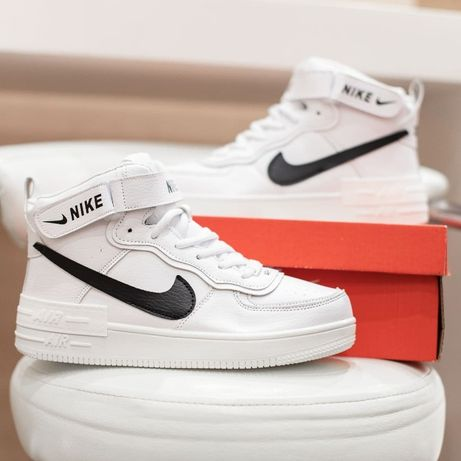 5062 Nike Air Force Shadow ботинки зимние найк аир форс кроссовки мех