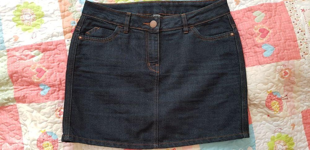 Spódnica jeansowa klasyczna Siedlce - image 1