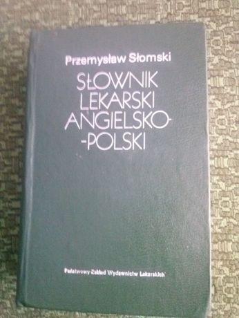 Słownik lekarski angielsko-polski P.Słomski