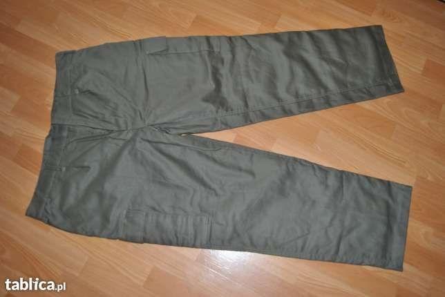 Spodnie męskie ocieplane militarno outdoorowe MFH XXL (ocieplane)
