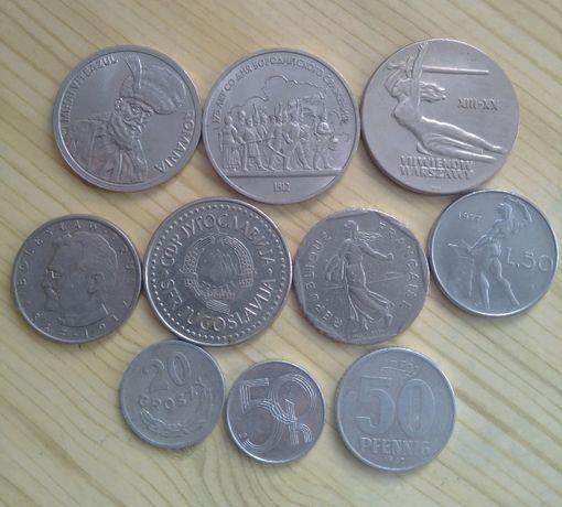 Монеты Европы и юбилейный рубль СССР