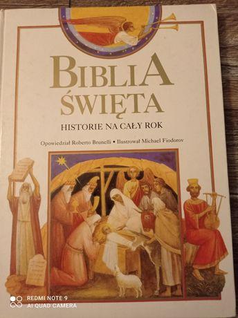Biblia Święta historie na cały rok.