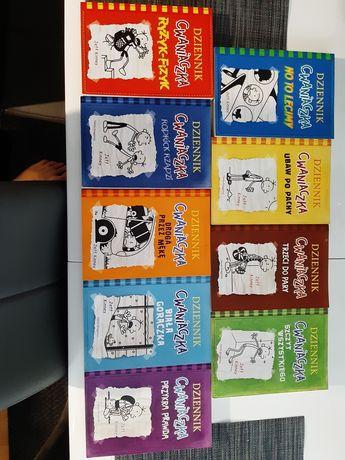 Książki Dzienniczek Cwaniaczka (8 części)