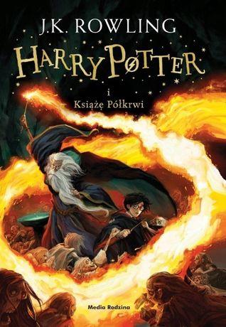 Harry Potter i Książę Półkrwi - J.K. Rowling -oprawa MIĘKKA