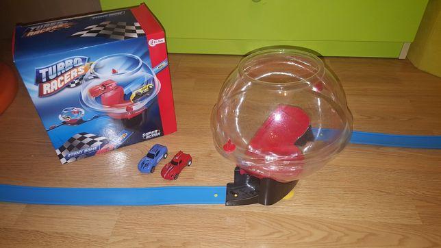 Tor wyścigowy Turbo Racer Racer Toi-Toys + 2 autka