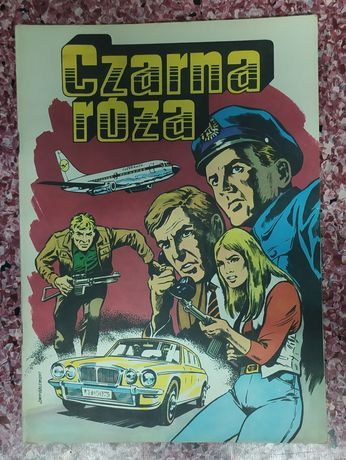 Czarna Róża - Wróblewski 1988 PRL Wyd I scalone