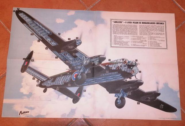 Poster avião imprensa britanica