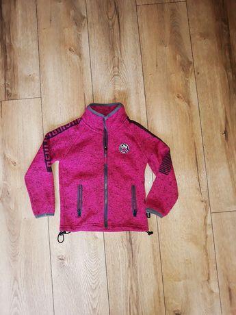 Bluza rozpinana kolor różowy r 104