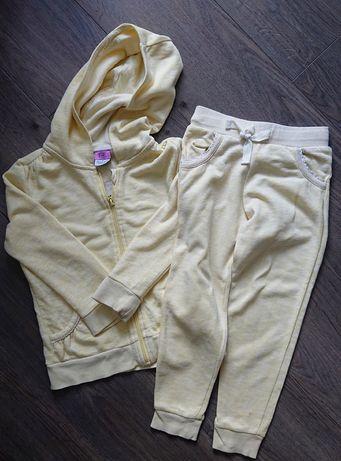 Dres spodnie i bluza F&F, r. 116