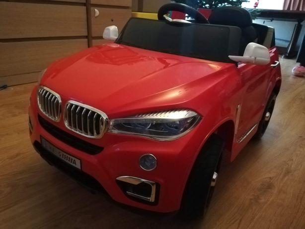 Autko elektryczne zdalnie sterowane BMW radio