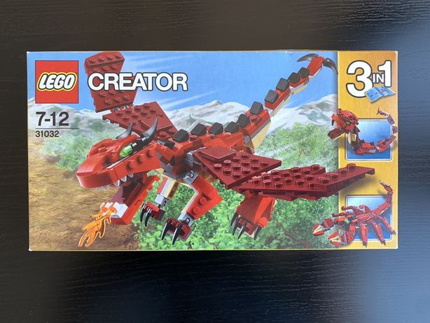 Lego Creator 31032 Red Creatures (2015)