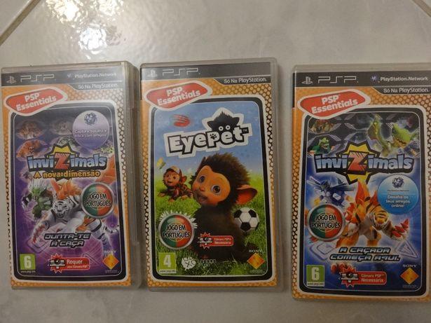 Jogos para a PSP (Play Station Portable)