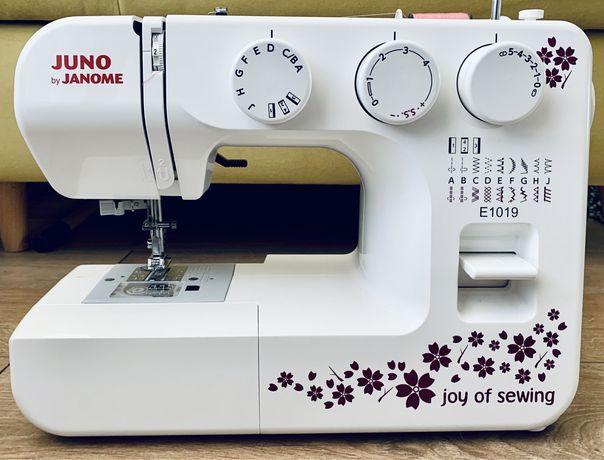 Nowa maszyna do szycia Juno by Janome E1019
